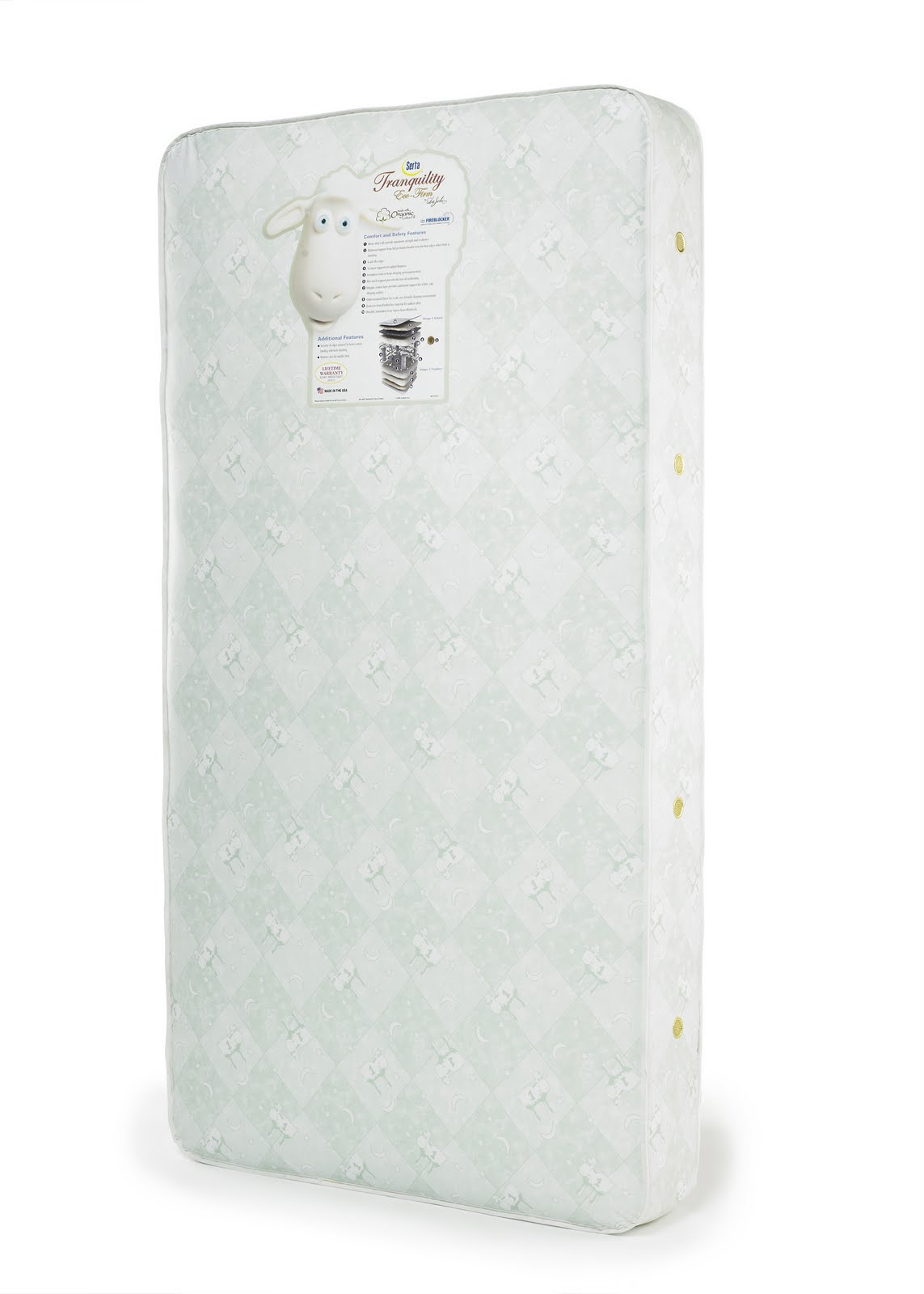ellen mattress firm giveaway serta tranquility eco firm crib mattress review and 8216